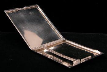 German Officer S Platinum Cigarette Case 03 26 04 Sold