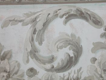 Architectural Wallpaper Border French C 1800 06 05 04