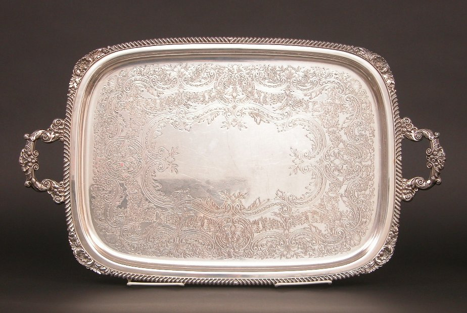 International Silver Company Serving Tray 06 04 04 Sold