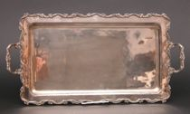 Sanborns Brothers Sterling Silver Serving Tray