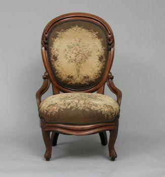 Victorian Slipper Chair 02 04 05 Sold 333 5