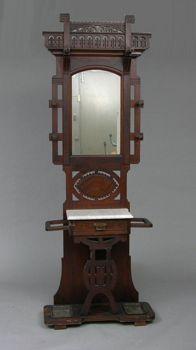 Eastlake Victorian Hall Tree 02 04 05 Sold 759