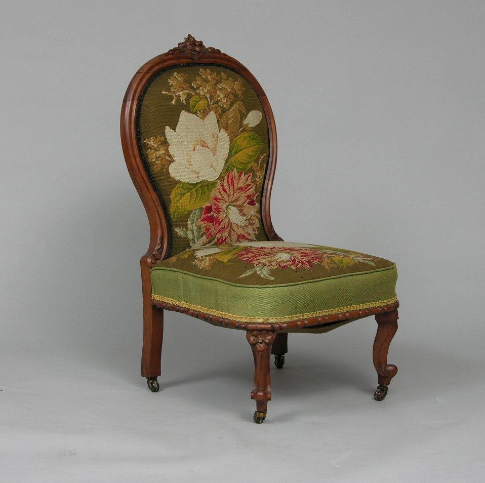 Victorian Boudoir Chair