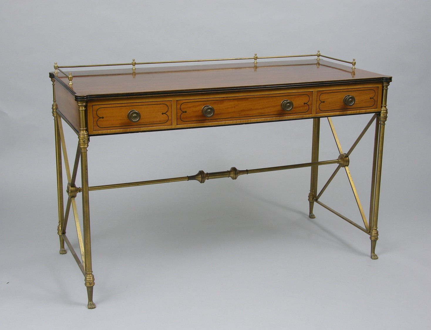 A Vintage Kittinger Campaign Desk. A Vintage Kittinger Campaign Desk  05 19 06  Sold   2127 5