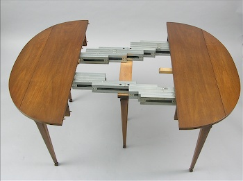 A Widdicomb Dining Table With Chairs Ca 1967