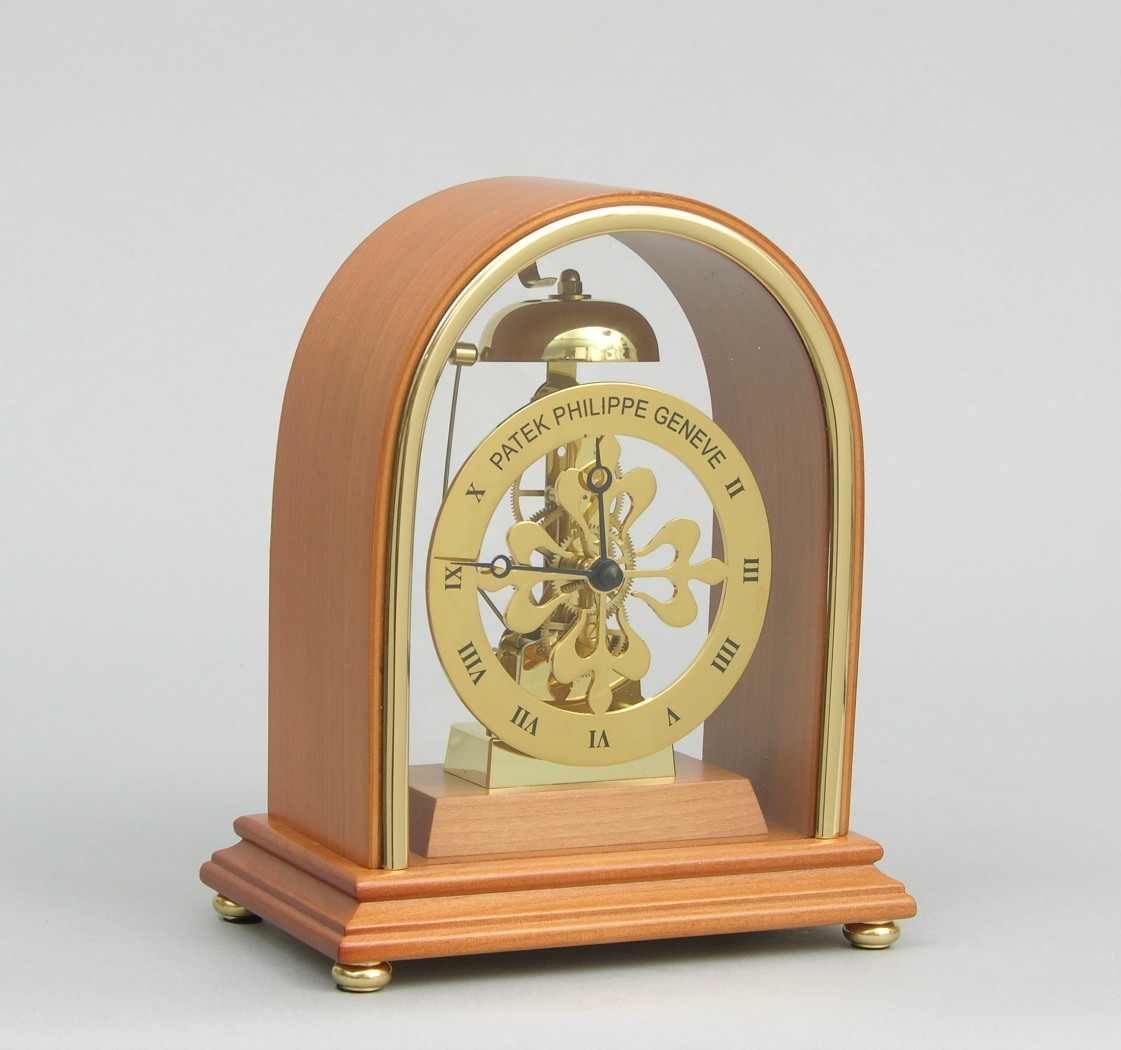 A Patek Philippe Showroom Display Clock By Franz Hermle