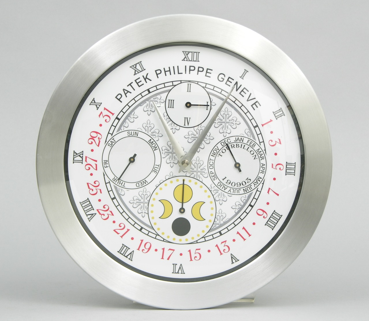 A Promotional Patek Philippe Wall Clock 091606 Sold 29325