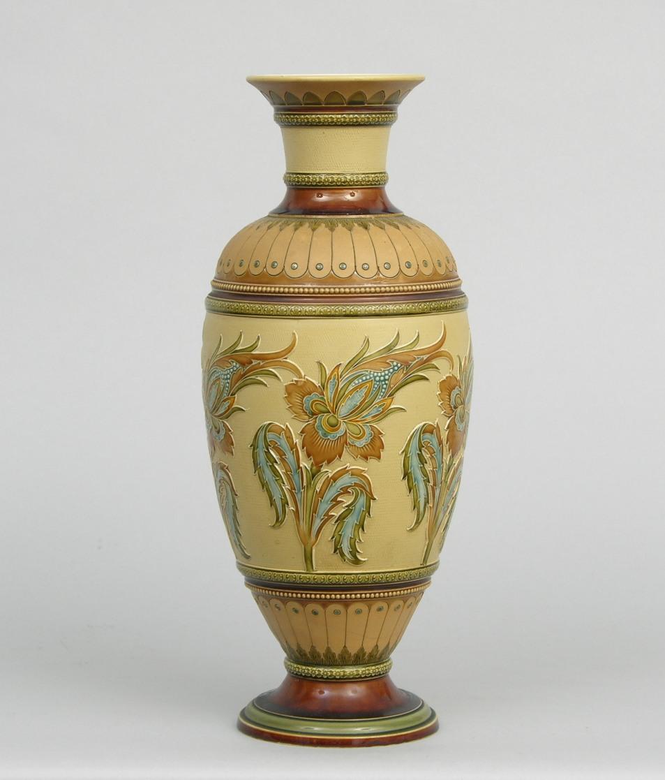 a large mettlach vase sold 161. Black Bedroom Furniture Sets. Home Design Ideas