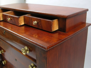 An American Empire Style Dresser, 19th Century