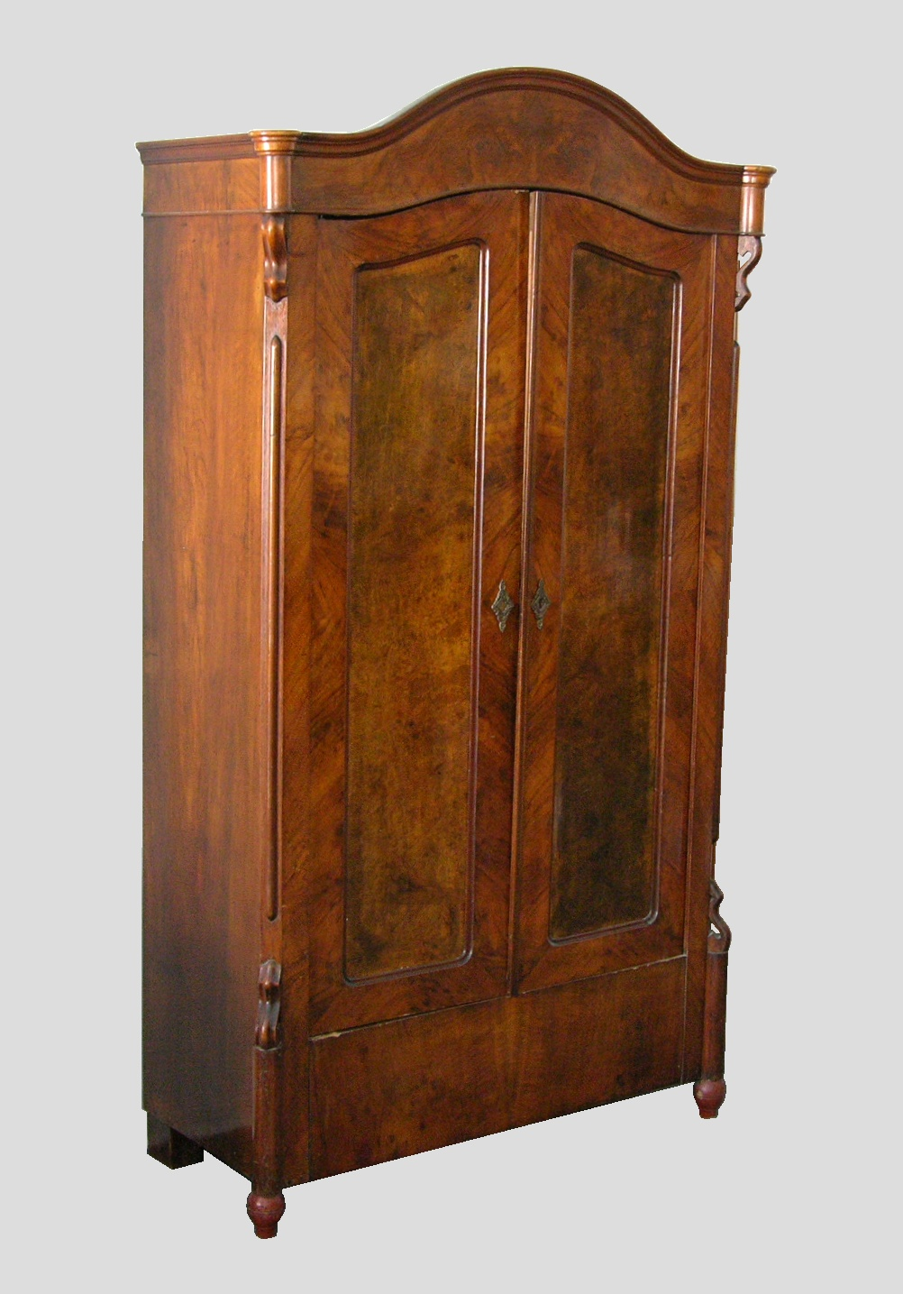 Lovely A Small Antique Armoire/Wardrobe