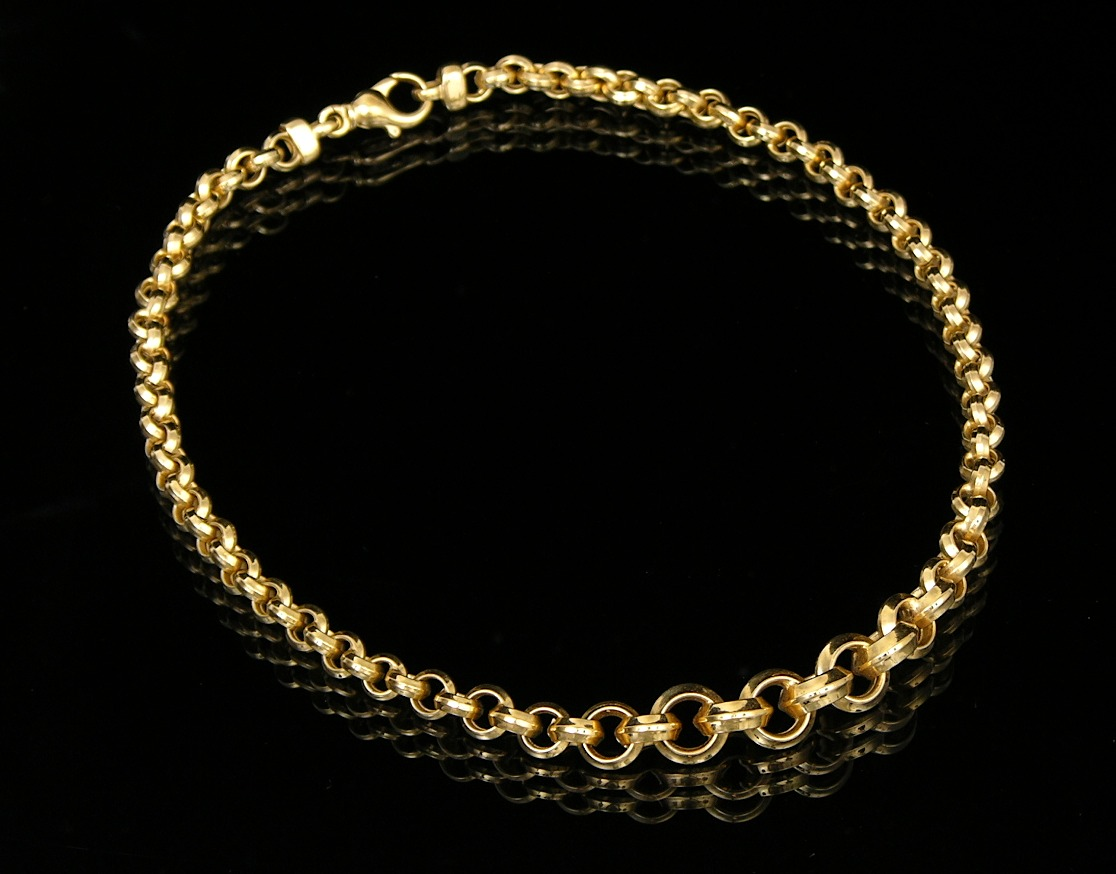 italian 18k gold plated sterling silver necklace by milor