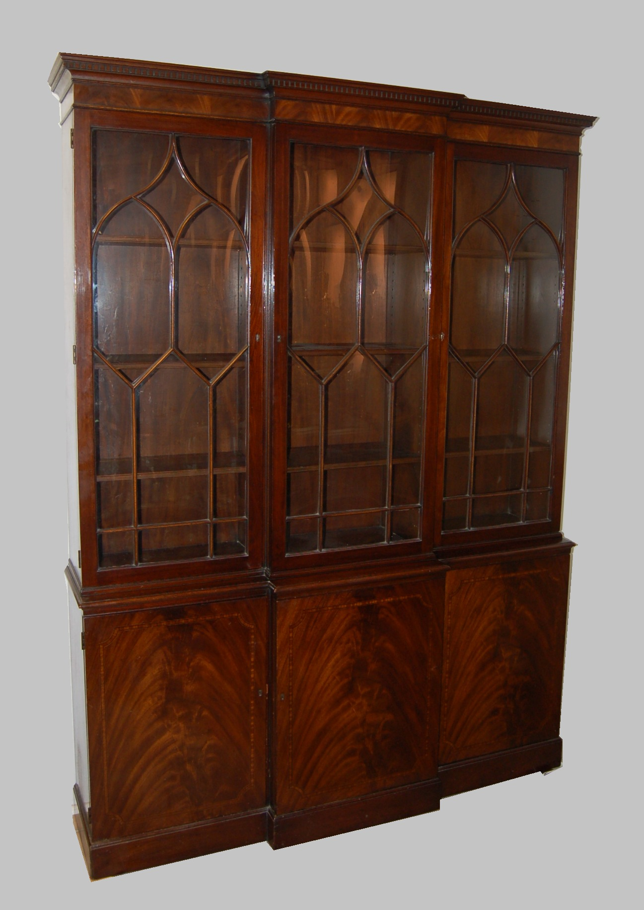 A Lovely Vintage China Cabinet Made by Baker Furniture - A Lovely Vintage China Cabinet Made By Baker Furniture, 11.16.07