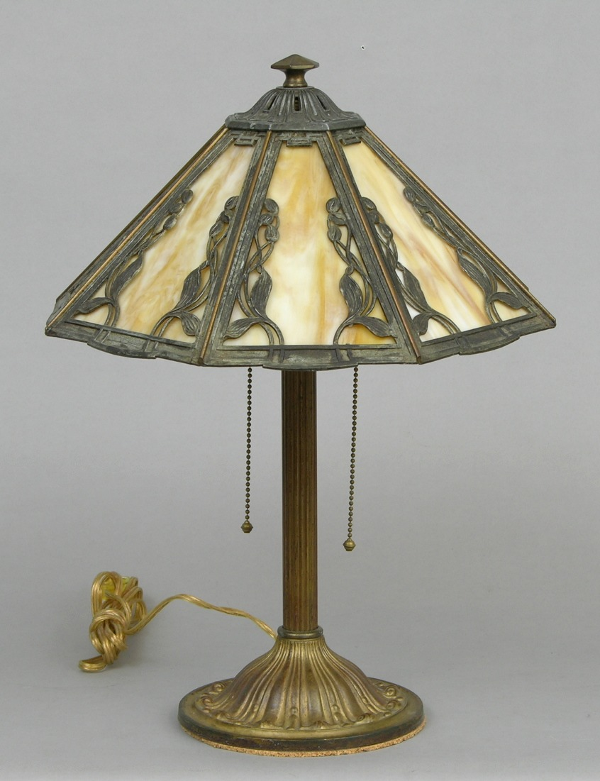A Bradley & Hubbard Electric Lamp, 05.15.08, Sold: $322