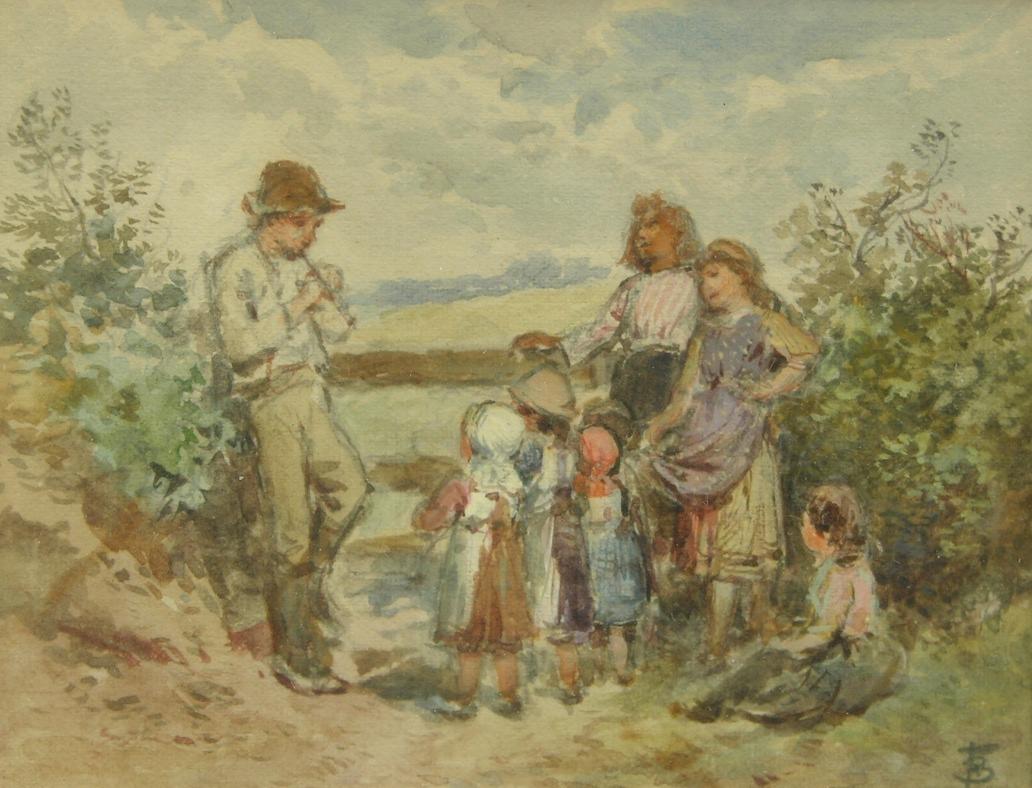 Miles Birket Foster R W S British 1825 1899 09 11 08