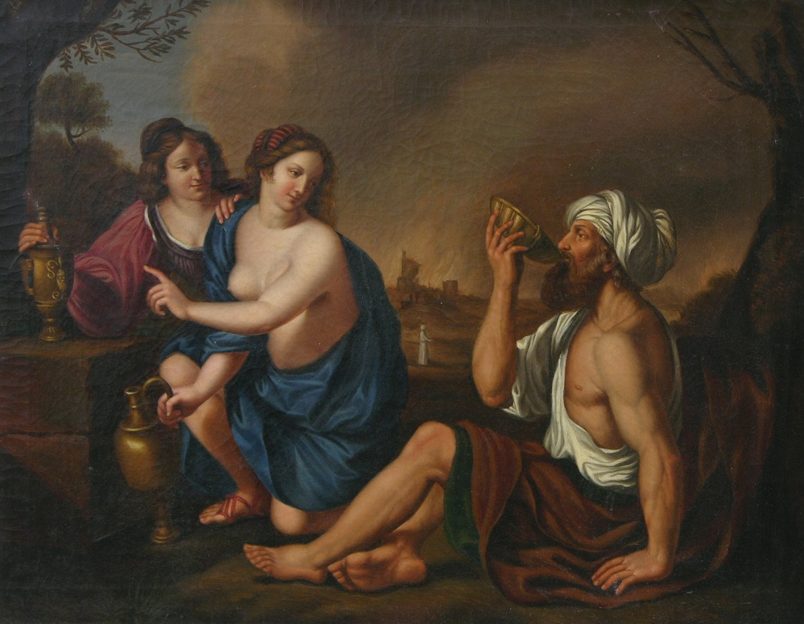 Image result for lot and his daughters
