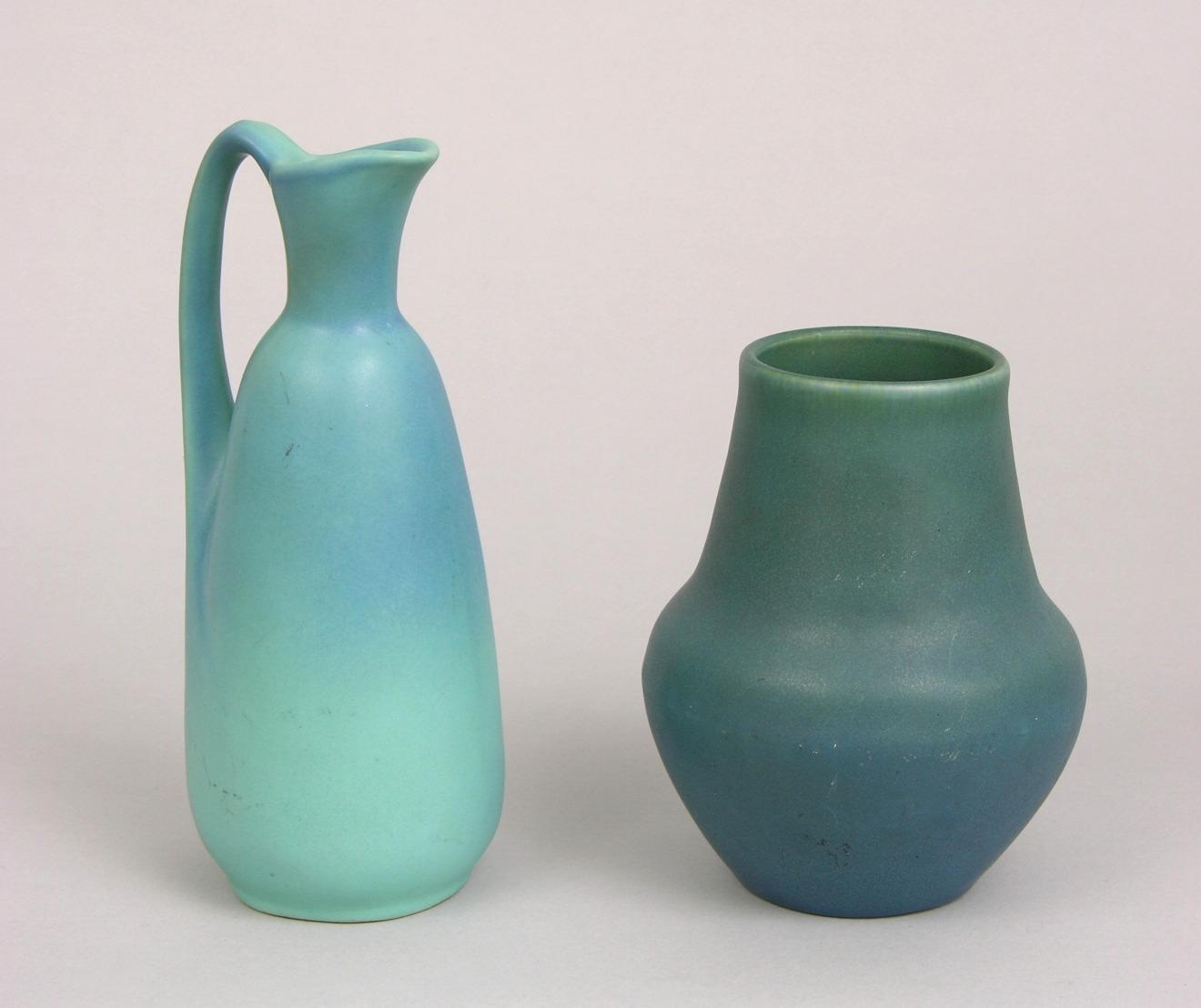 A rookwood vase and a van briggle ewer 030709 sold 1955 a rookwood vase and a van briggle ewer reviewsmspy