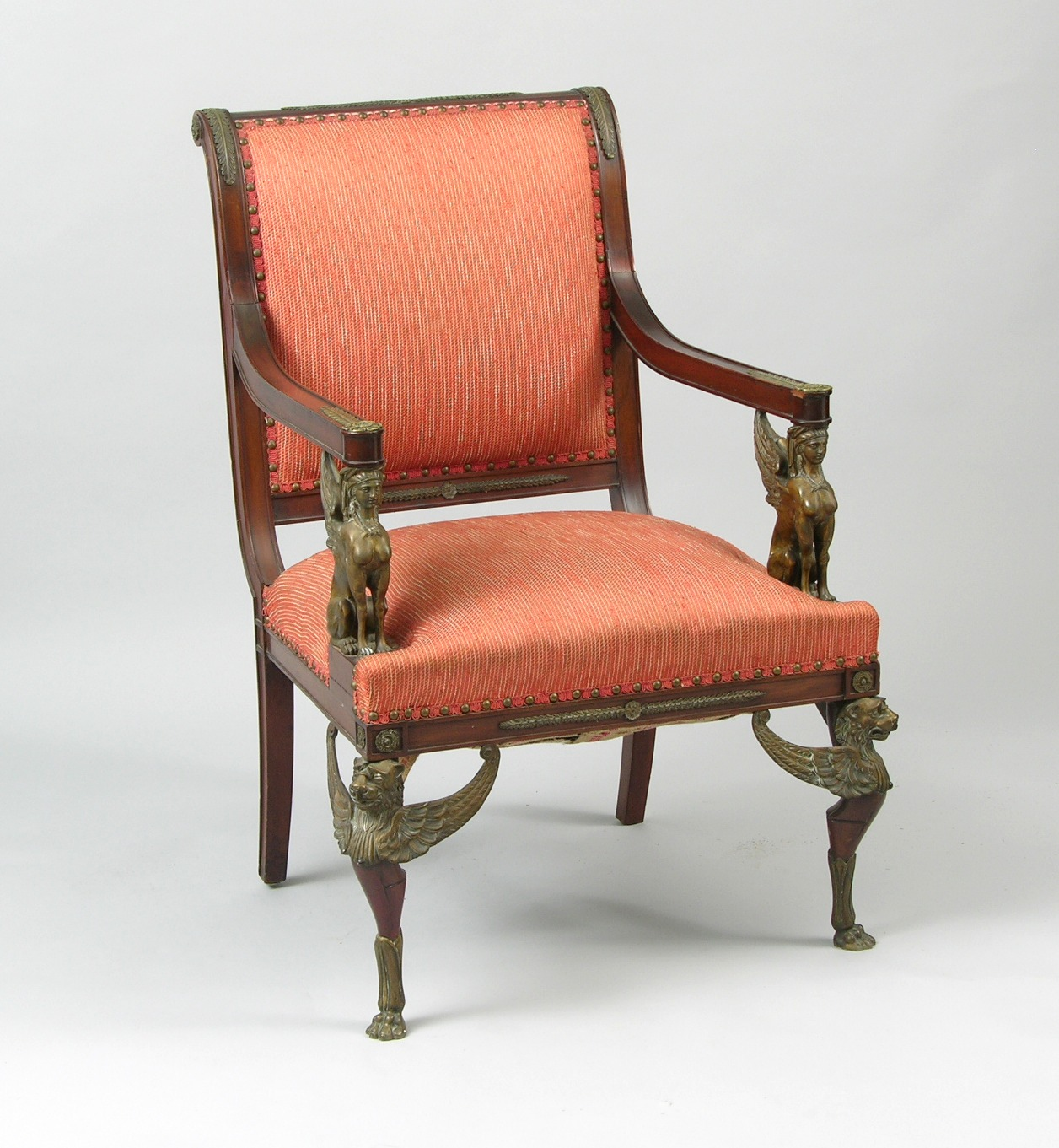 An Antique Armchair Second Empire 03 05 09 Sold 603 75