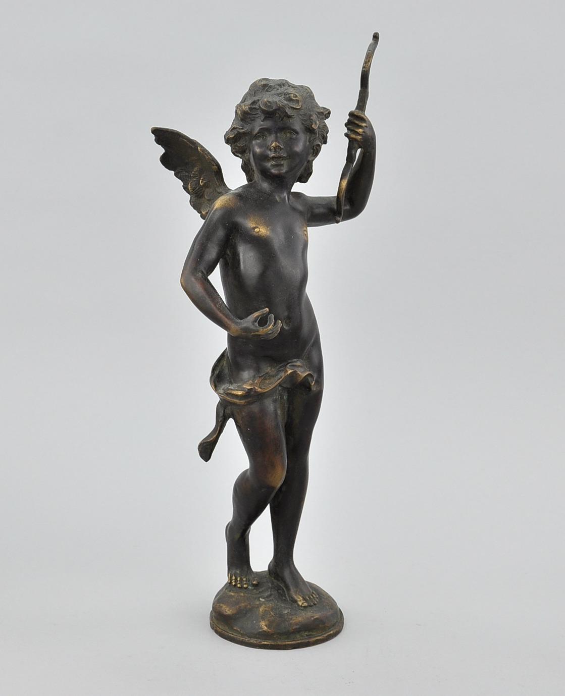 Cupid Bronze Sculpture...