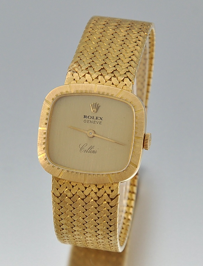 An 18k Gold Rolex Cellini Watch 09 25 09 Sold 1840
