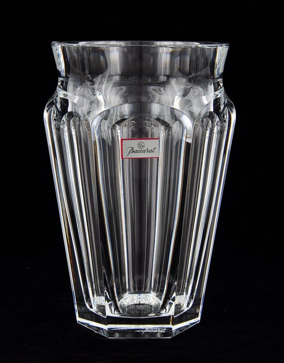 a heavy baccarat crystal vase sold 368. Black Bedroom Furniture Sets. Home Design Ideas