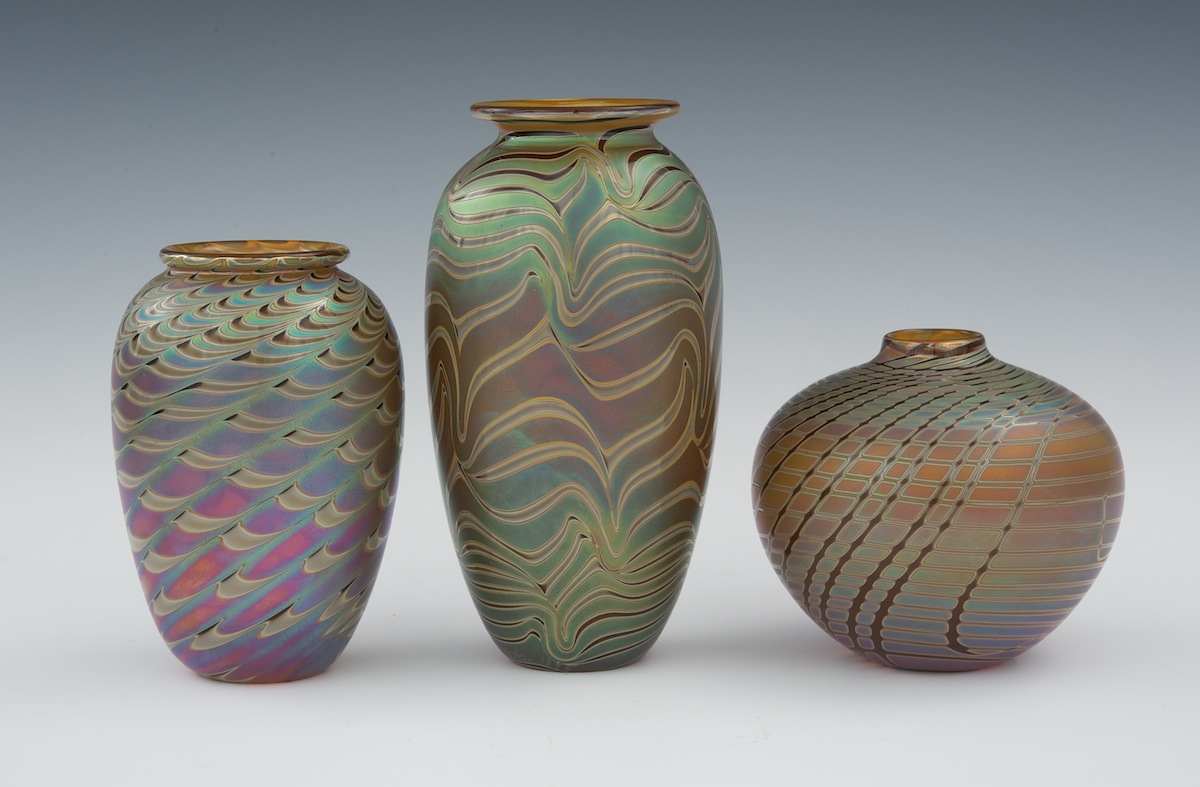 Art Gl Vases - Gl Designs Zweifel Gl Vase on