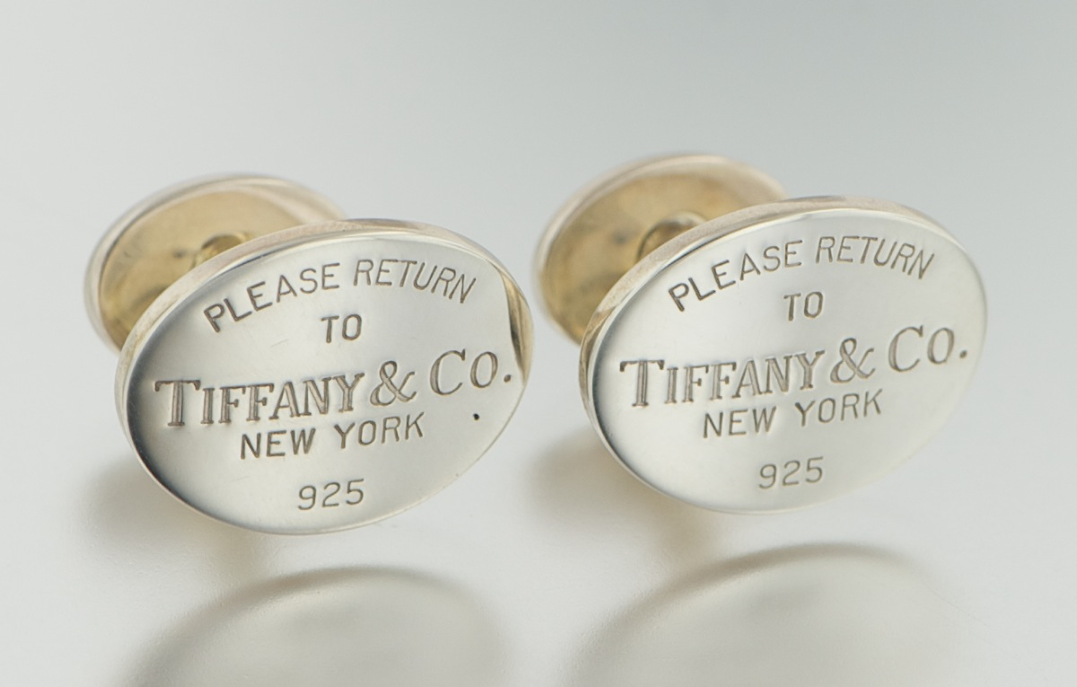 23! Catalog 302 1073 Lot 39398 Return To Tiffany Cufflinks