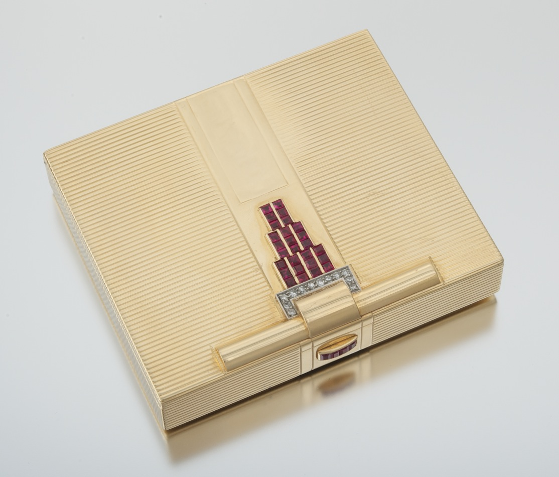 Cigarette Diamond: An Art Deco Gold, Ruby And Diamond Cigarette Case , 11.19.10