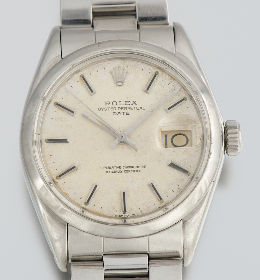 Rolex oyster perpetual day date superlative chronometer officially certified in Melbourne