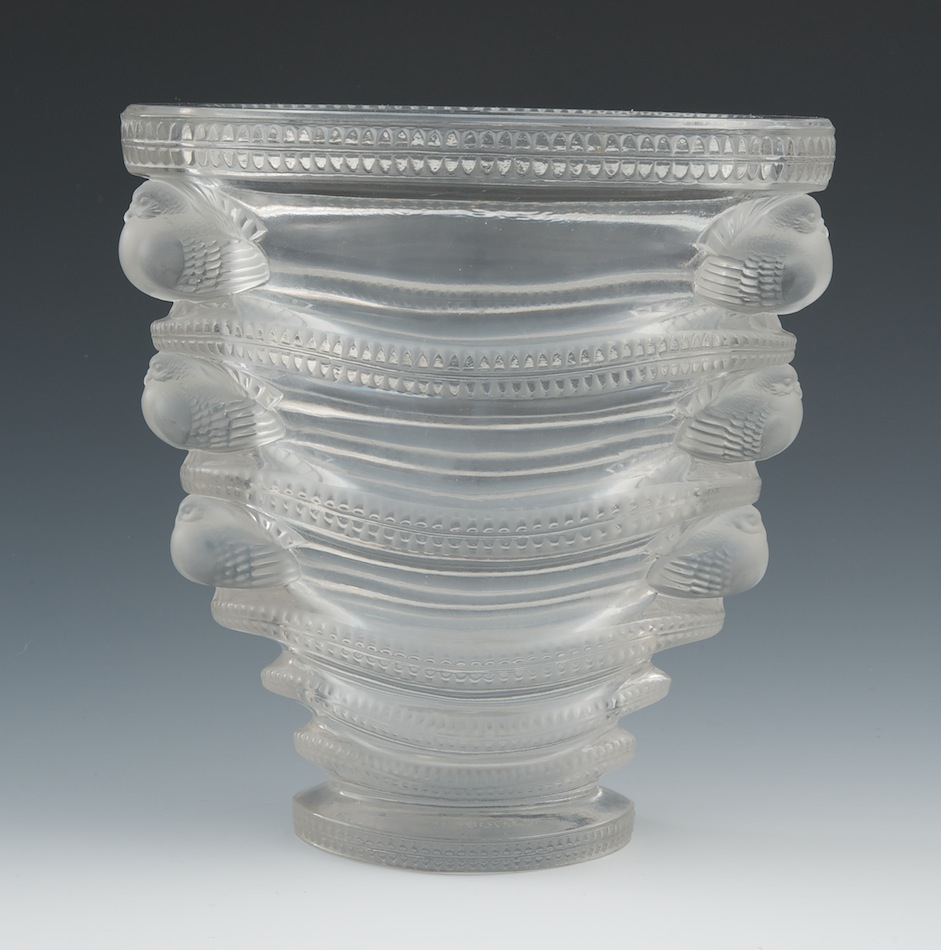Lalique saint marc vase 012911 sold 5865 lalique saint marc vase reviewsmspy