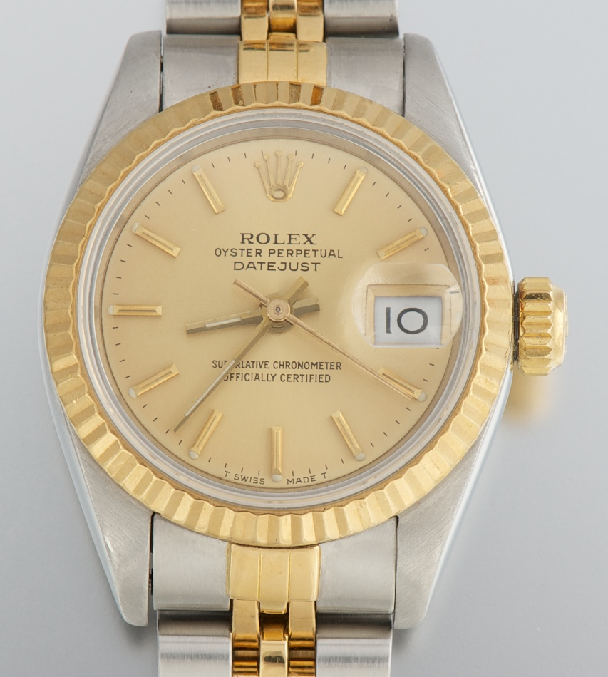 f894cbf23bfc A Rolex Ladies  Two-Tone Oyster Perpetual Watch