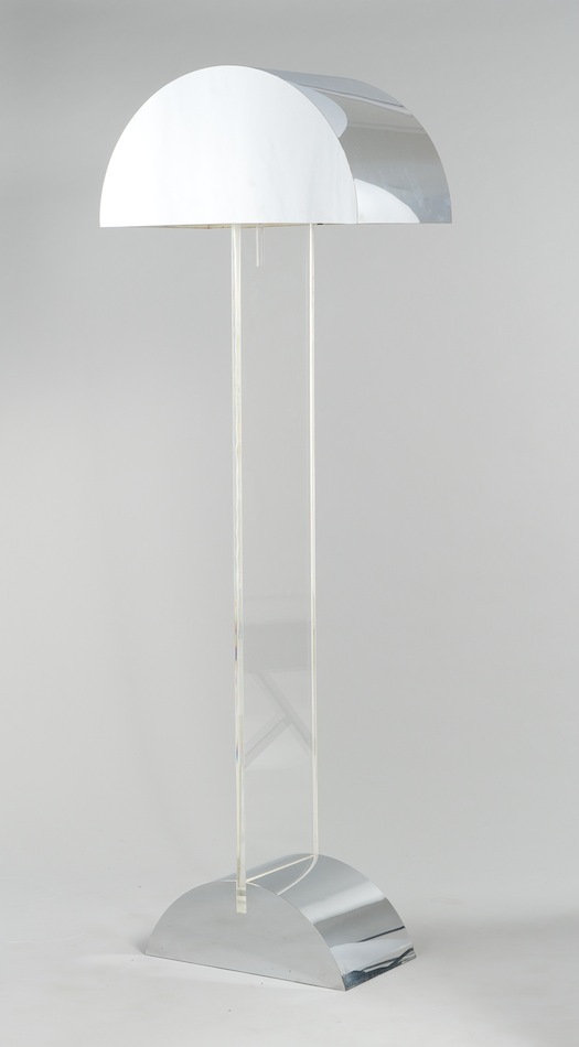 A george kovacs lucite and aluminum floor lamp 040211 sold 3105 a george kovacs lucite and aluminum floor lamp aloadofball