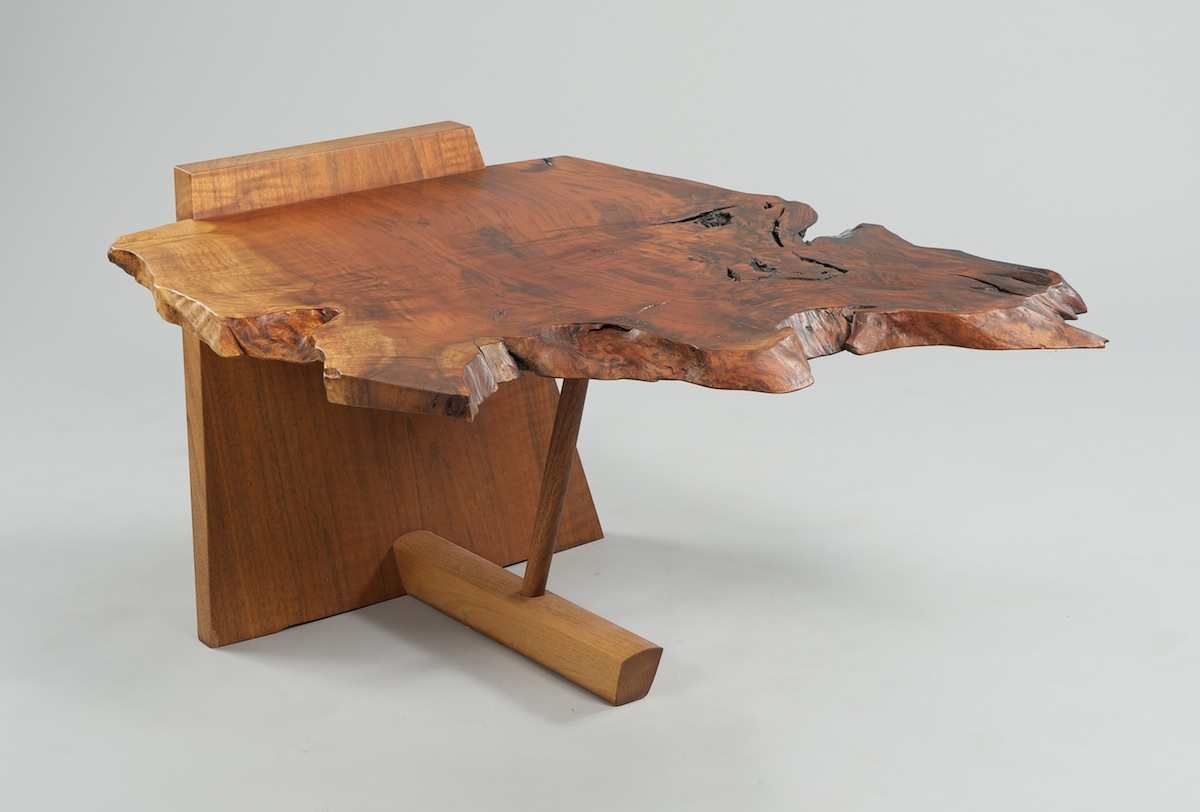 A Walnut Kevin Table By George Nakashima 1987 Sold 26737 5