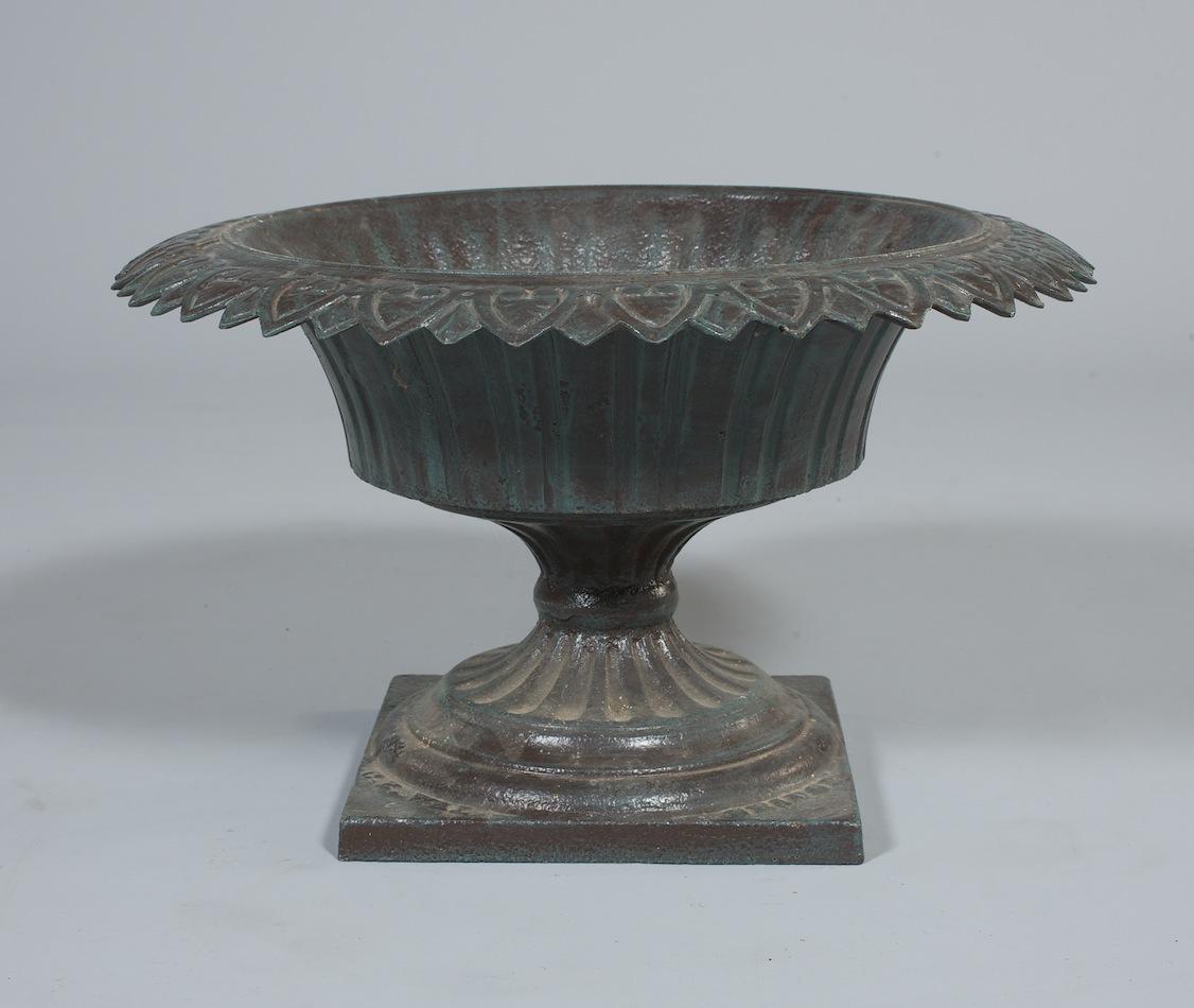A Cast Iron Garden Urn By Walbridge U0026 Co Buffalo, New York