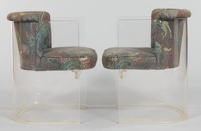 Five Vladimir Kagan #6700 Plexiglass Chairs - Five Vladimir Kagan #6700 Plexiglass Chairs, 10.21.11