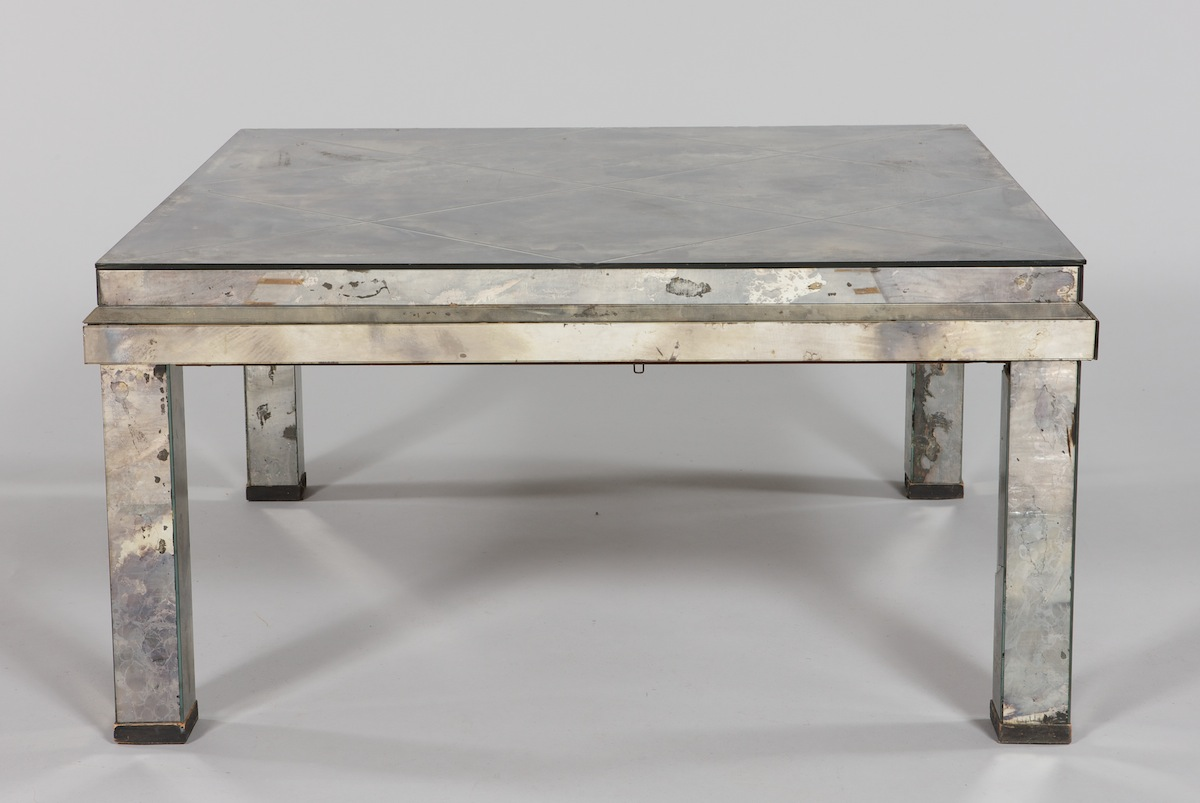 smoked mirrored furniture. A Vintage Smoked Mirror Coffee Table Mirrored Furniture