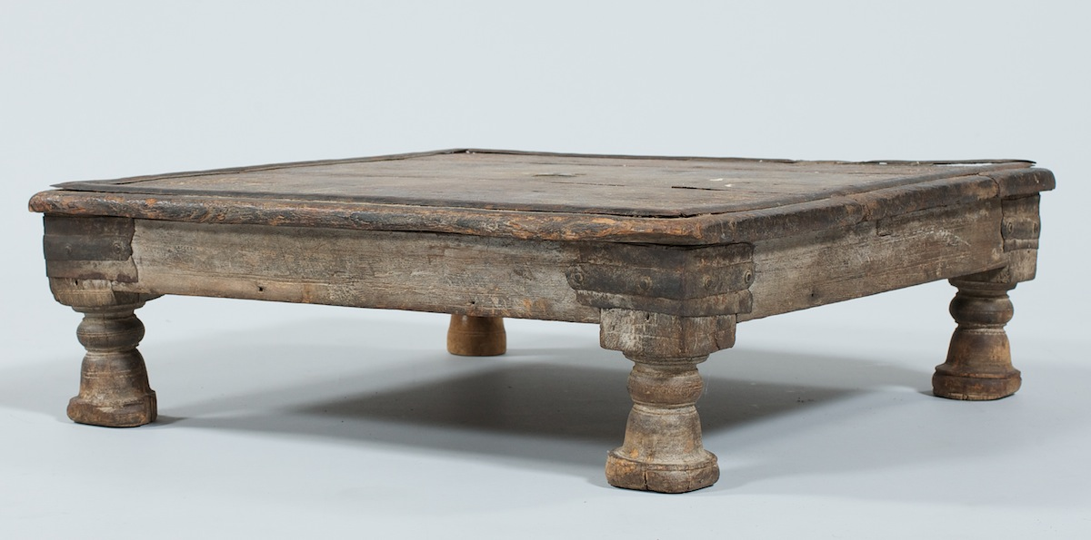 A Middle Eastern Low Wood Table 09 01 11 Sold 46
