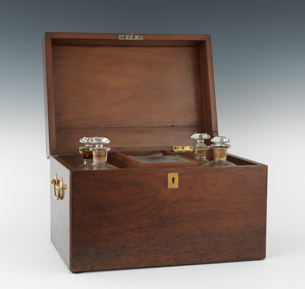 Portable Liquor Cabinet An Antique Walnut Liquor Chest 090311