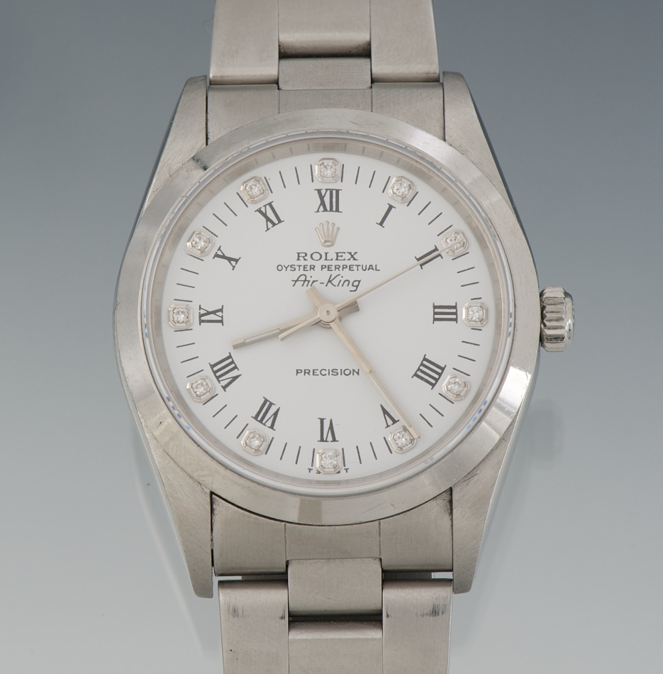 8759bcf9e4f A Rolex Air-King Oyster Perpetual Wrist Watch