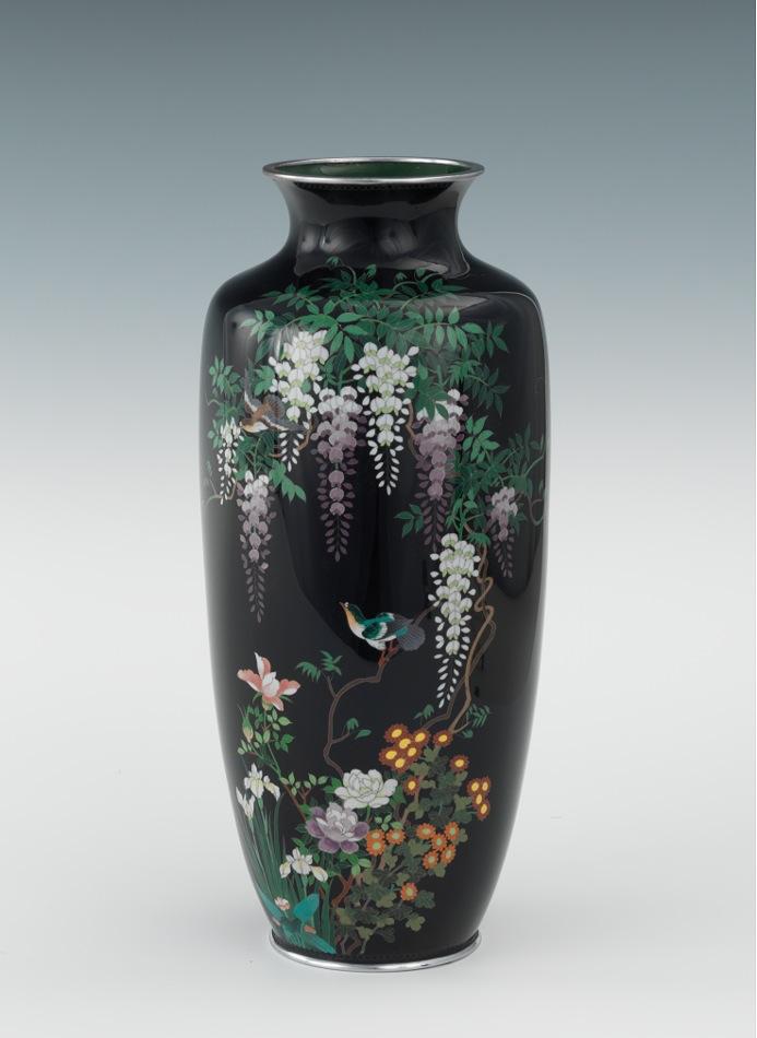 A Japanese Cloisonne Vase Third Mark Of Ota Kichi 09 03 11 Sold 546 25