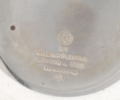 a sterling silver william fleming reproduction porringer