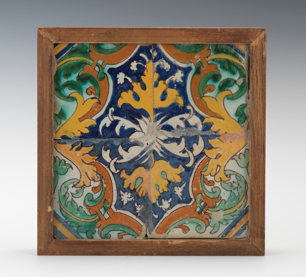 A set of four portugese tiles ca 16th century 052412 sold 115 a set of four portugese tiles ca 16th century shiifo
