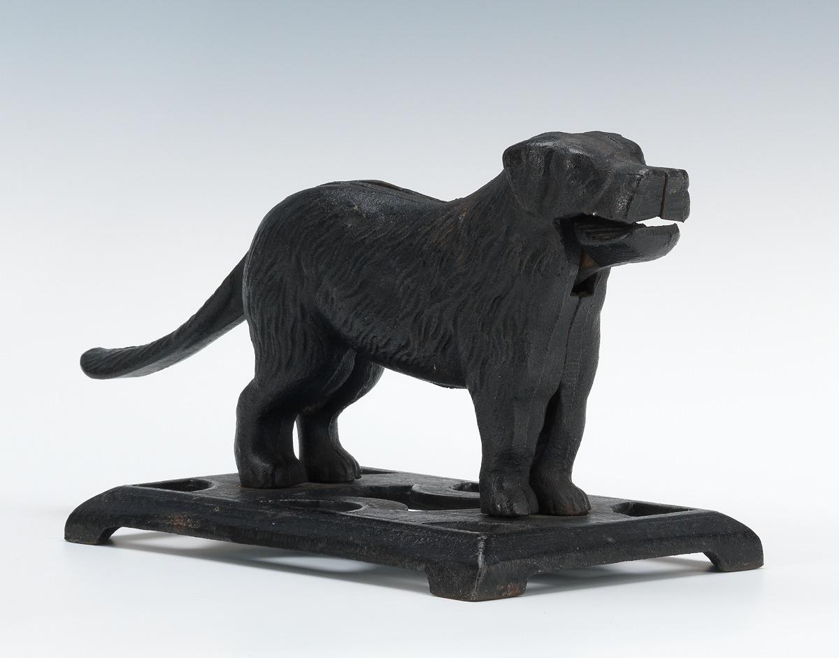 A Cast Iron Dog Nutcracker 11 08 12 Sold 74 75
