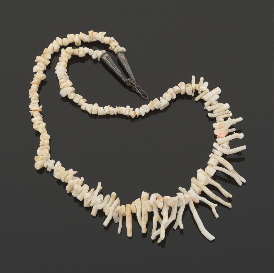A White Coral Branch Necklace 11 09 12 Sold 57 5