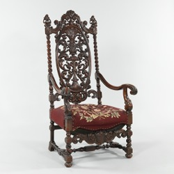 A William U0026 Mary Style Armchair