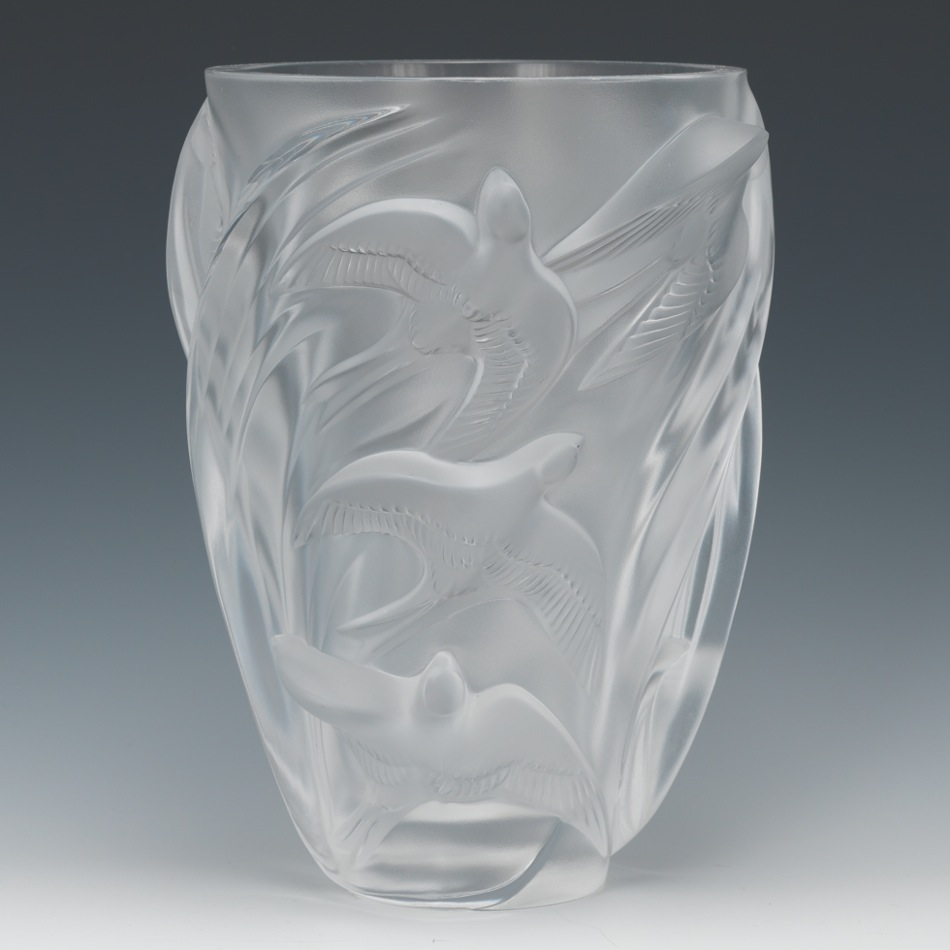 A lalique martinets vase 021413 sold 828 a lalique martinets vase reviewsmspy