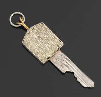 A gold and diamond mounted rolls royce key pendant 032213 a gold and diamond mounted rolls royce key pendant aloadofball Choice Image
