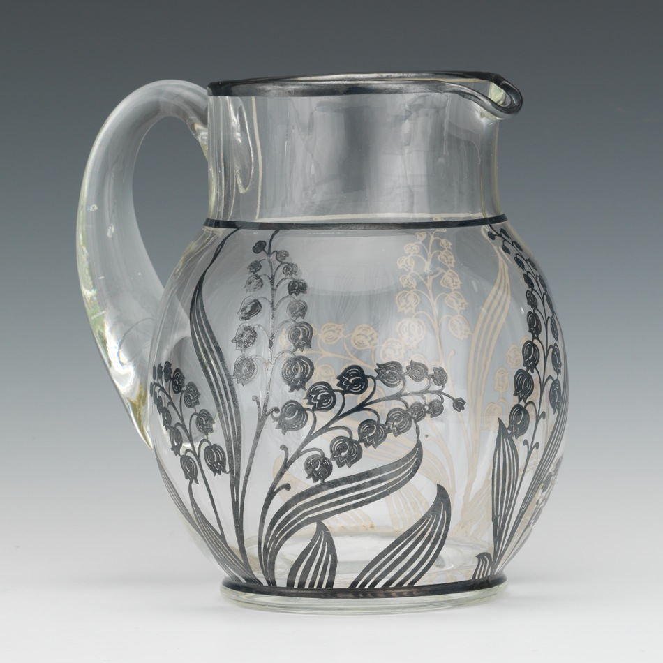 Silver overlay glass pitcher 032113 sold 115 silver overlay glass pitcher reviewsmspy