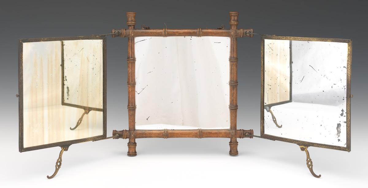 A Tri Fold JapaneseAesthetic Movement Dressing Table