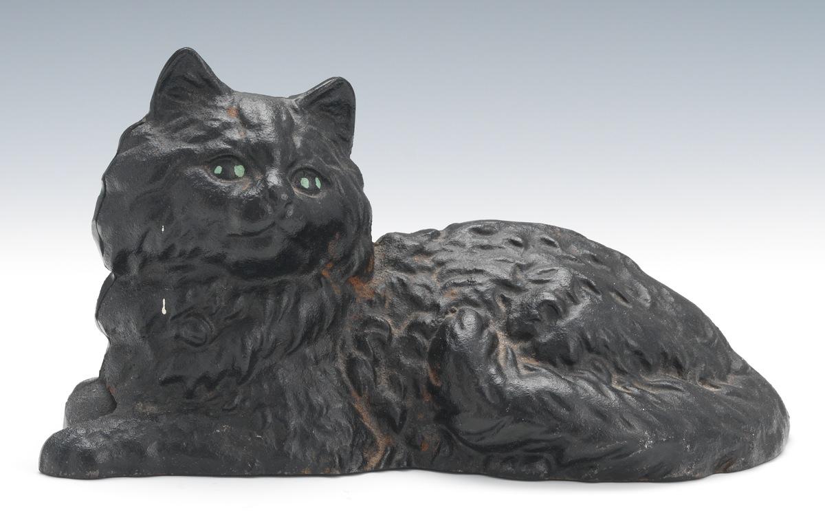 Antique Black Cat Pottery