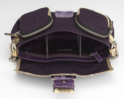 Prada Python \u0026quot;Indaco Patch Catena\u0026quot; Shoulder Bag, 02.07.14, Sold ...